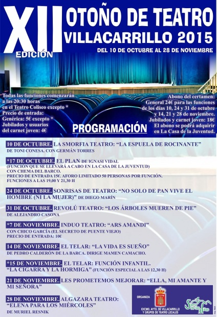 CARTEL OTOÑO DE TEATRO (1)