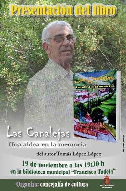Presentacion libro Tomas Lopez
