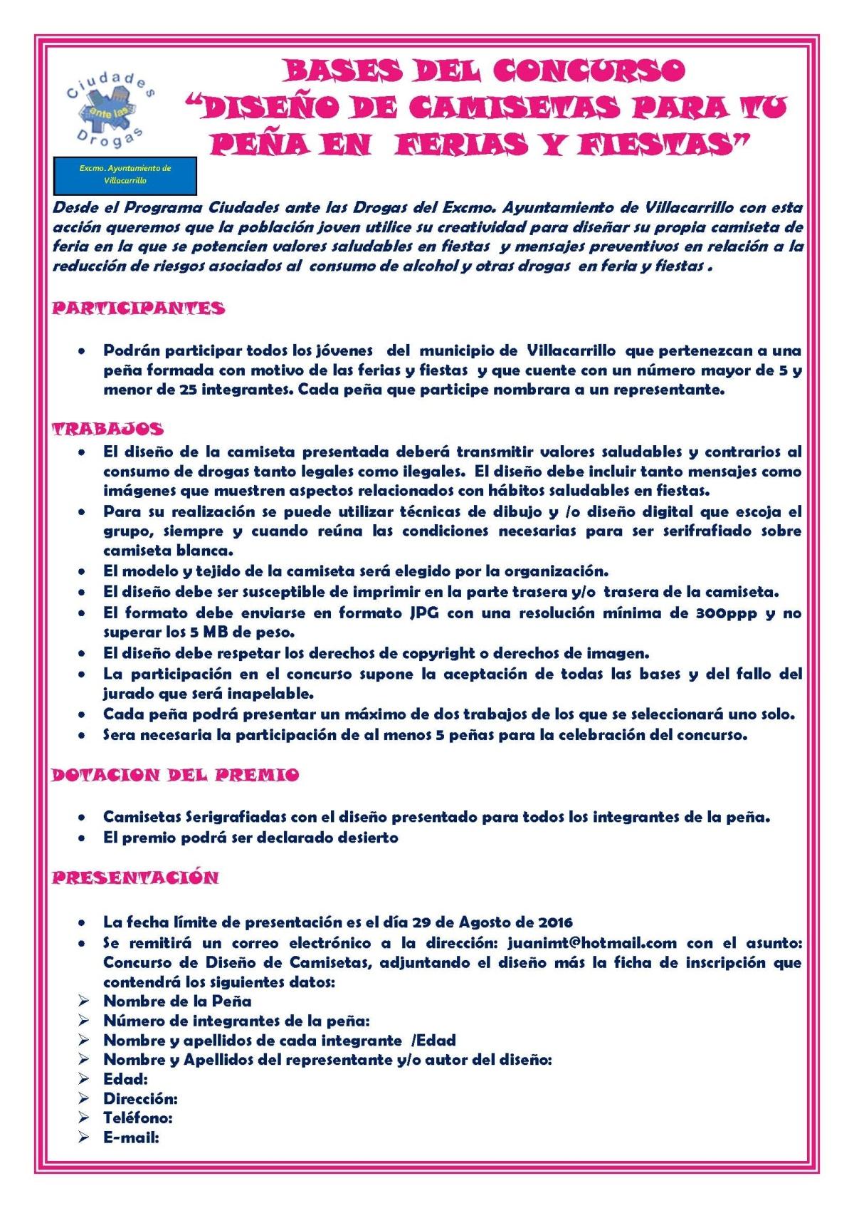 BASES_DEL_CONCURSO_CAMISETA_PExAS_2016_Pxgina_1