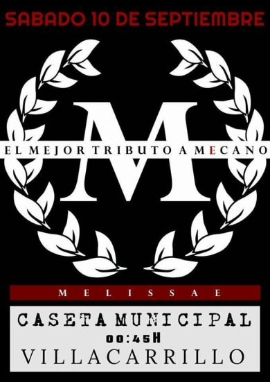 TRIBUTO A MECANO. 10 DE SEPTIEMBRE