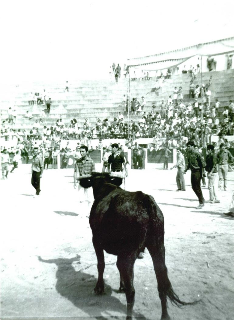 Encierro en la plaza de toros. 70´ FdelArco. 1
