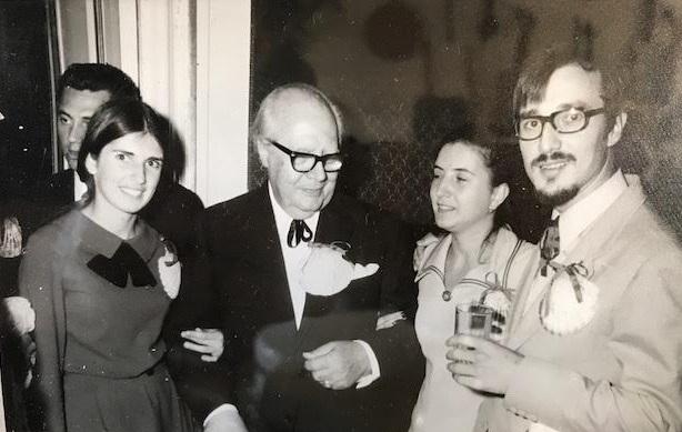 SANTIAGO 1971 CON EL MAESTRO ANDRES SEGOVIA