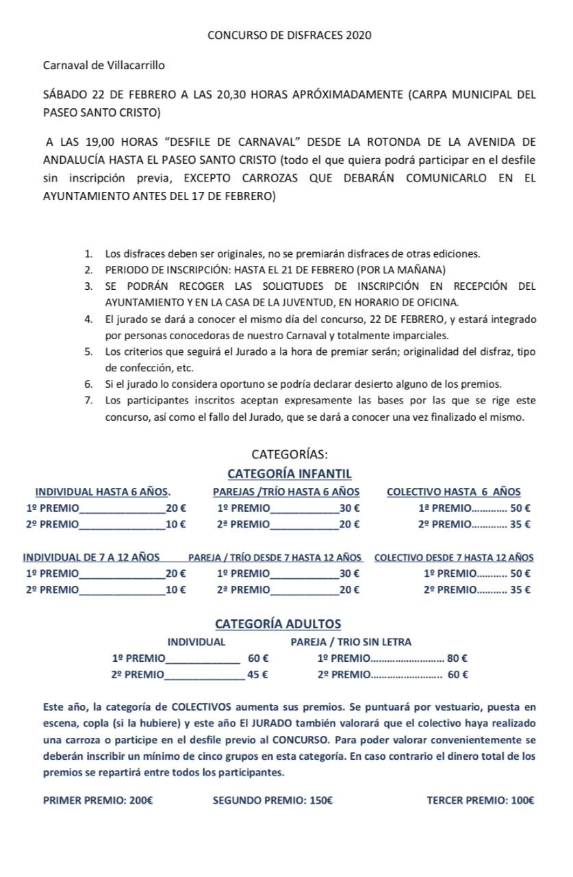 BASES CONCURSO DE DISFRACES 2020 JPG